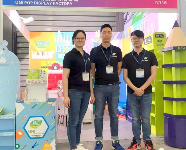 UNI POP Displays on Shanghai Stationary Fair 2019