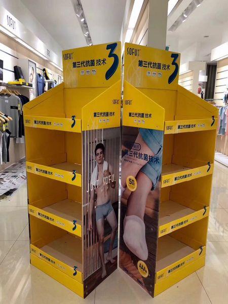 UNI POP / PDQ Displays inside stores for  Socks