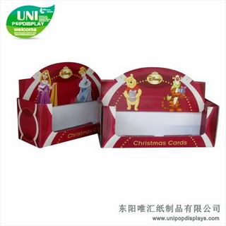 WH18C018-Disney-Christmas-cards-counter-display-made-in-China