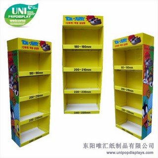 WH18F006-kids-shoes-floor-display-made-in-China