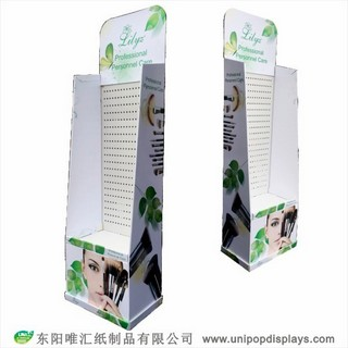 WH18F010-cosmetics-brush-floor-display-made-in-China