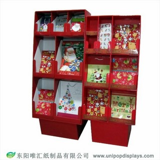 WH18F014-christmas-greeting-cards-floor-display-made-in-China