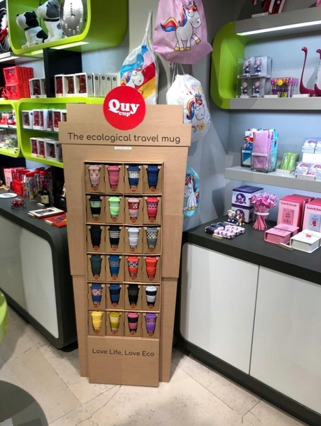 UNI POP / PDQ Displays inside stores for travel mugs